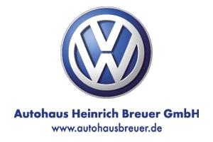 Hauptsponsor VW Breuer